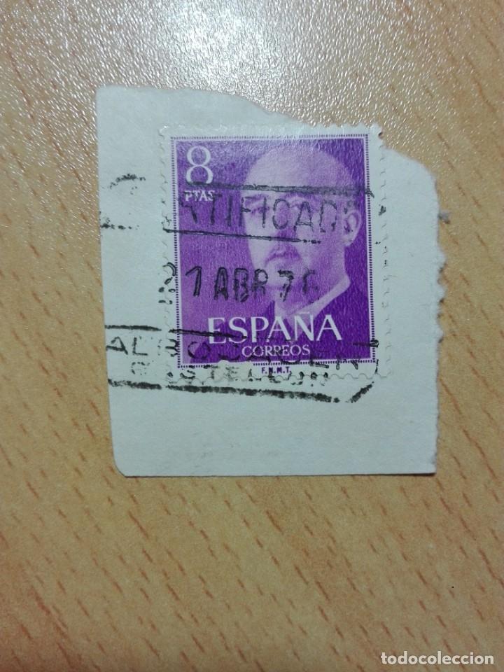 MATASELLOS 1976 - ALBOCACER CASTELLON - CERTIFICADO (Sellos - Historia Postal - Sello Español - Sobres Circulados)