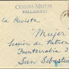Sellos: ESPAÑA. GUERRA CIVIL. CENSURA MILITAR BANDO NACIONAL. GUERRA CIVIL. CENSURA MILITAR BANDO NACIONAL. Lote 183107915