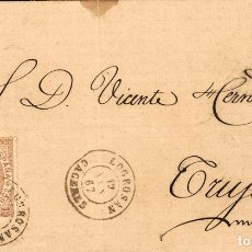 Sellos: ESPAÑA. EXTREMADURA. HISTORIA POSTAL. EXTREMADURA. HISTORIA POSTAL. LOGROSAN / CACERES. MAGNIFICA.. Lote 183115775