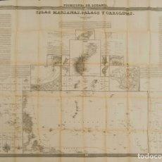 Sellos: ESPAÑA. FILIPINAS. 1852. ATLAS DE ESPAÑA Y SUS POSESIONES DE ULTRAMAR, FRANCISCO COELLO. CORRESPON. Lote 183135826