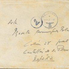 Sellos: ESPAÑA. GUERRA CIVIL. DIVISIÓN AZUL. SOBRE . 1943. CORREO DE CAMPAÑA FELDPOST Nº18125E (PERTENECIEN. Lote 183155512