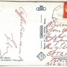 Sellos: GERONA TP SAN FELIU DE GUIXOLS CON MAT AMBULANTE PORT BOU BARCELONA. Lote 183421490