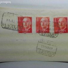 Sellos: MATASELLOS 1960 - CENICERO LOGROÑO - CERTIFICADO - LA RIOJA. Lote 187129765