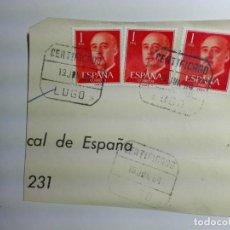 Sellos: MATASELLOS 1964 - LUGO - CERTIFICADO. Lote 187130252