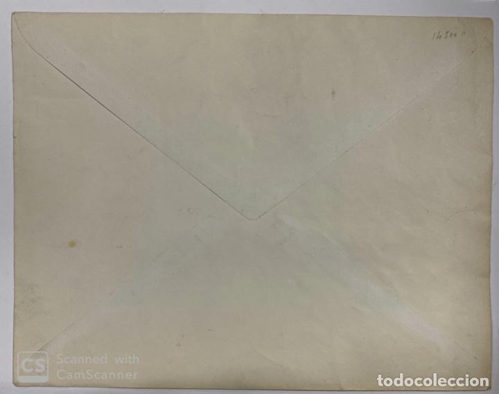 Sellos: SOBRE. QUINTA DE GOYA.COMPLETA(EDIFIL 517/30).AÑO 1930.CON SELLO EXPOSICION IBEROAMERICANA SEVILLA - Foto 2 - 190334856
