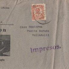 Sellos: SOBRE COMERCIAL MEMB SUMINISTROS OFICINA MALANDRA , PALMA DE MALLORCA . MAQUINA ESCRIBIR REMINGTON .. Lote 190993361