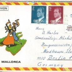Sellos: MALLORCA SOBRE TURISTICO SELLO ANTONIO SOLER. Lote 194143577