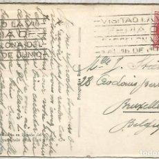 Sellos: SEGUNDA REPUBLICA TP BARCELONA CON MAT RODILLO VIII FERIA DE BARCELONA . Lote 194608523