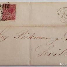 Sellos: SOBRE CIRCULADO CON SELLOS EDIFIL 175 (1876) Y 188 (1877). Lote 194687447
