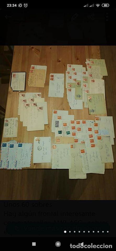 PEQUEÑO LOTE DE SOBRES CIRCULADOS 1946 Y 1962 (Sellos - Historia Postal - Sello Español - Sobres Circulados)