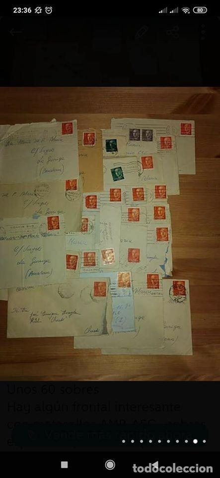Sellos: pequeño lote de sobres circulados 1946 y 1962 - Foto 3 - 194975090