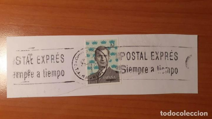 MECANOTECNIA, POSTAL EXPRÉS. 21 FEBRERO DE 2020 (Sellos - Historia Postal - Sello Español - Sobres Circulados)