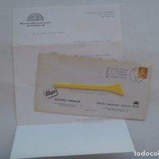 Sellos: CARTA CIRCULADA ALIANZA POPULAR - PDP PARTIDO DEMOCRATA POPULAR DE SEVILLA, NUEVAS GENERACIONE. 1985. Lote 195446542