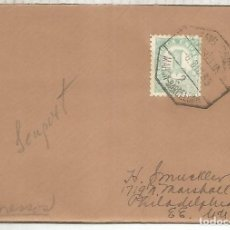 Sellos: CC A USA IMPRESOS MAT AMBULANTE MARITIMO 1935 MAHON BARCELONA 2 BALEARES. Lote 195493032