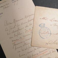 Sellos: FRANQUICIA SENADO 1917 SAN SEBASTIÁN LLEGADA. Lote 198051061