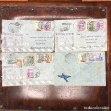 Sellos: SOBRES DE CORREO AÉREO CERTIFICADO MATASELLOS BATA GUINEA ESPAÑOLA Y SANTA ISABEL FERNANDO POO, 1948. Lote 198751945