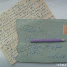 Sellos: CARTA CIRCULADA A MUDAPELO EN UTRERA ( SEVILLA 9, 1960. SELLO FRANCO. Lote 198825798