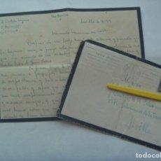 Sellos: CARTA DE LUTO CIRCULADA DESDE PRISION PROVINCIAL DE SEVILLA A ALUMNO SALESIANO. 1959. Lote 200313946