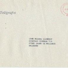Sellos: 2000. MADRID. SERVICIO FILATÉLICO. MARCA MECÁNICA EN ROJO EXPOSICIÓN MUNDIAL DE FILATELIA.. Lote 200732136