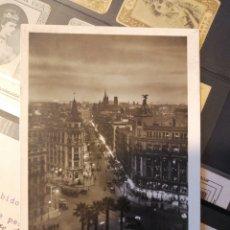 Sellos: REPÚBLICA ESPAÑOLA 1934 POSTAL BARCELONA ESTAFETA CAMBIO IRUN. Lote 204194421