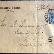 Sellos: 1895. SEVILLA-GENOVA. ED221.. Lote 204468037