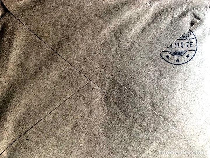 Sellos: 1908/1909. DOS CARTAS CIRCULADAS A DINAMARCA. ED.242. - Foto 2 - 204526371