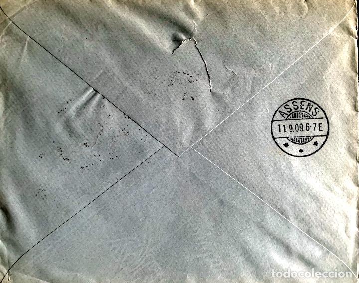 Sellos: 1908/1909. DOS CARTAS CIRCULADAS A DINAMARCA. ED.242. - Foto 4 - 204526371