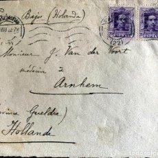 Sellos: 1923. SAN SEBASTIAN-ARHEM (PB). EDIFIL 316 PAREJA.. Lote 204608210