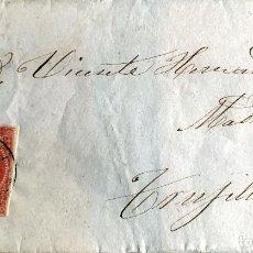 Sellos: 1859. TORRECILLA-TRUJILLO. EDIFIL 48. Lote 204616167