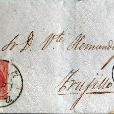 Sellos: 1859. CACERES-TRUJILLO. EDIFIL 48. Lote 204616498