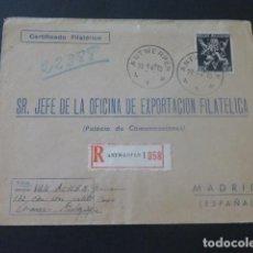 Sellos: 1945 SOBRE CIRCULADO DE BELGICA A MADRID EXPORTACION FILATELICA. Lote 205397307