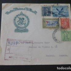 Sellos: 1957 SOBRE CIRCULADO DE CUBA A MADRID. Lote 205397500
