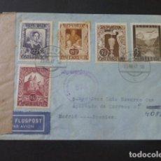 Sellos: 1947 SOBRE CIRCULADO DE AUSTRIA A MADRID CENSURA AUSTRIACA. Lote 205397701