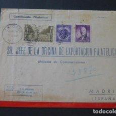 Sellos: 1943 SOBRE CIRCULADO DE ESTADOS UNIDOS A MADRID EXPORTACION FILATELICA. Lote 205397877