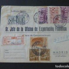 Sellos: 1945 SOBRE CIRCULADO DE PORTUGAL A MADRID EXPORTACION FILATELICA. Lote 205397961