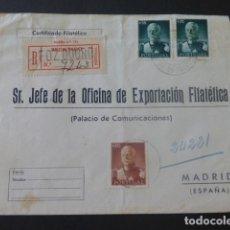 Sellos: 1946 SOBRE CIRCULADO DE PORTUGAL A MADRID EXPORTACION FILATELICA. Lote 205398085