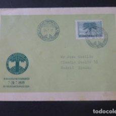 Sellos: 1949 CARTA CIRCULADA DE FINLANDIA A MADRID. Lote 205398970