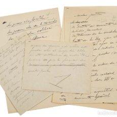 Sellos: 1940 CIRCA - FRANCISCO FRANCO - DOCUMENTOS AUTOGRAFOS RELACIONADOS CON EL GOBIERNO DEL DICTADOR VER. Lote 205751473