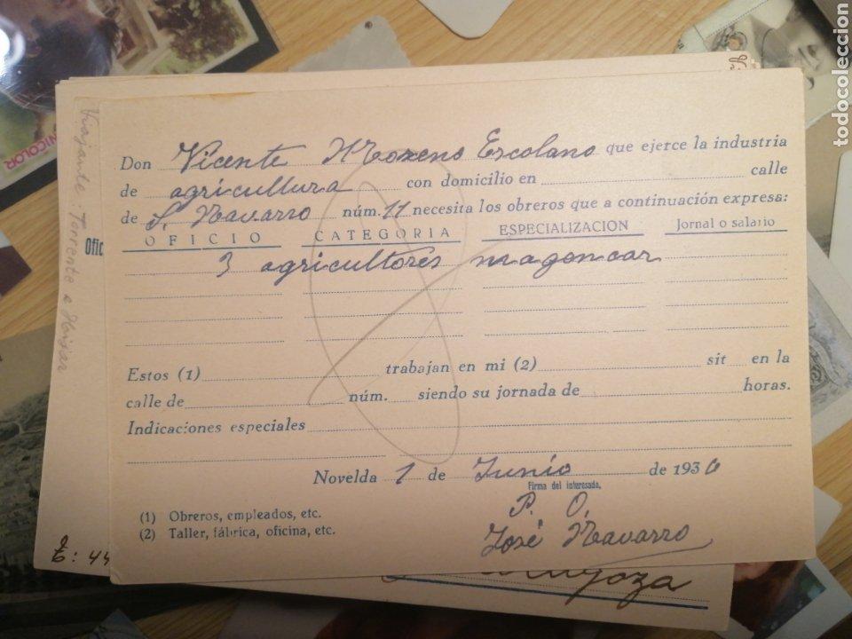 Sellos: Estrella de Cuba paro obrero Novelda 1936 Barcelona - Foto 2 - 204192127
