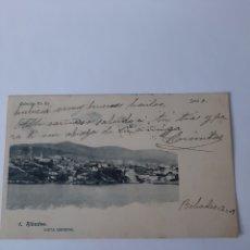 Sellos: 1909 RIBADEO LUGO POSTAL MATASELLO RIBADEO LUGO LA COSIE MADRID. Lote 210394232