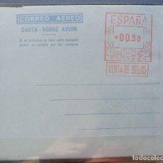 Sellos: ESPAÑA AEROGRAMAS CON FRANQUEO MECANICO - EDIFIL Nº 8 -. Lote 211494922