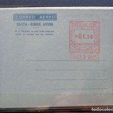 Sellos: ESPAÑA AEROGRAMAS CON FRANQUEO MECANICO - EDIFIL Nº 10 -. Lote 211495059