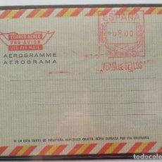 Sellos: ESPAÑA AEROGRAMAS CON FRANQUEO MECANICO - EDIFIL Nº ?? - EL DE LA FOTO. Lote 211600306