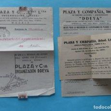 Sellos: PUBLICIDAD FOLLETO CARTA PUBLICITARIA CON CENSURA MILITAR DE MADRID 1939 - VER FOTOS. Lote 217074131