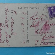 Sellos: GUERRA CIVIL ITALIANOS - POSTAL ANTIGUA DE PUERTO DE SANTA MARIA CADIZ CON CENSURA MILITAR 1939 VER. Lote 217075527