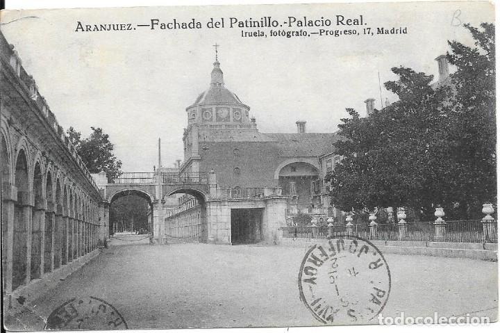 Sellos: EDIFIL 274. DE MADRID A PARIS. 1922. RARO MATASELLOS DE LA ESTAFETA DE CAMBIO - Foto 2 - 217470066