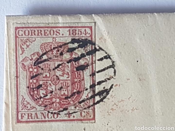 Sellos: HISTORIA POSTAL SOBRE CIRCULADO VALENCIA 1854?? - Foto 3 - 218478595