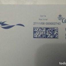 Sellos: FRANQUEO MECÁNICO AGILITY 27/11/08 0,31 € SOBRE ENTERO. Lote 221416690