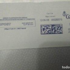 Sellos: FRANQUEO MECÁNICO GUPOST 12/06/08 0,31 € SOBRE ENTERO. Lote 221418688