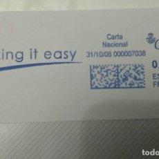 Sellos: FRANQUEO MECÁNICO MAKING IT EASY 31/0/08 0,31 € SOBRE ENTERO. Lote 221418895